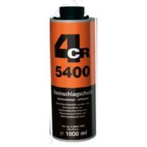 4CR 5400 Kőfelverődés védő, fekete rücsi 1L