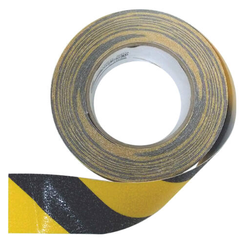 KENT ANTI - SLIP csúszásgátló szalag fekete- sárga 50 mm x 18 m