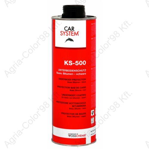 Carsystem KS-500 Alvázvédő bitumenes 1 l