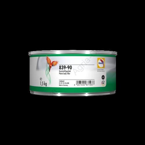 Glasurit 839-90 műanyag kitt 1,5kg