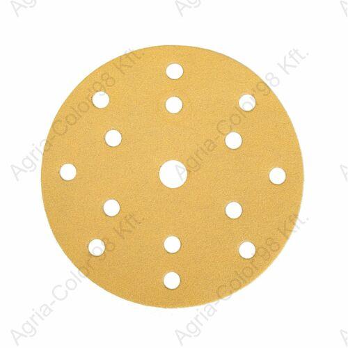 Mirka Gold körcsiszoló Q150 mm P100 15lyuk