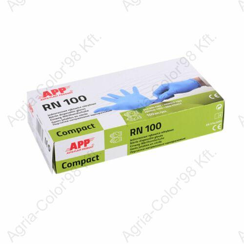 APP Nitril kesztyű, kék XL 100 db / doboz
