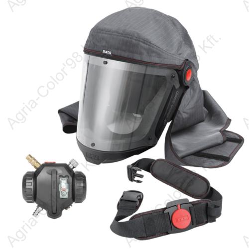 SATA air vision 5000 friss levegős maszk (légzőmaszk)