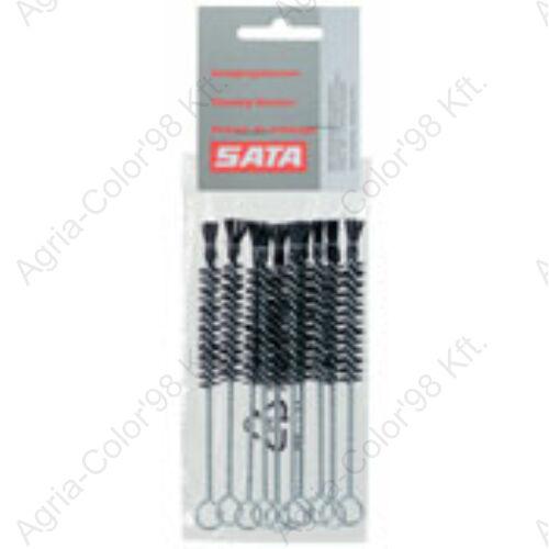 SATA 6007 Tisztítókefe fújópisztolyhoz 10 db/csomag