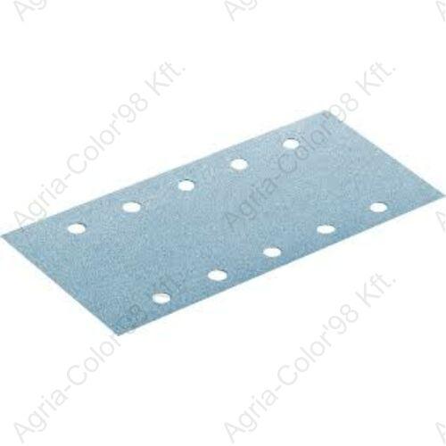SIA T2042 115x228mm P220 10 lyukú tépőzáras csiszolópapír