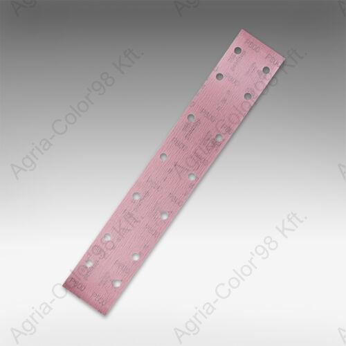 SIA T2043 70 x 420 mm P60 14 lyukú tépőzáras csiszolópapír
