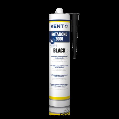 KENT 85083 Rotabond MS fekete ragasztó - tömítőanyag 290ml